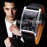 2014 New Design ROMA Watches HOT Sale Men Luxury Brand Leather Wristwatches.Casual Fashion Quartz  Watch Clock Relogio Masculino