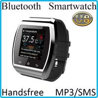 Smart Call Sim Card Wristwatch Watch Phone 2014 Fashion Smartwatch  Quad-bands 850,900/1800/1900 MHz(GPRS) Free Shipping