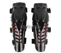 Hot sale 2014 1 pair Motorcycle Motorbike Racing Motocross knee protector Pads Guards Protective Gear  Black&Red TK0760