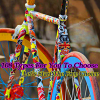 Item Choose Car Decoration Doodle Personalized motorcycle Bicycle luggage laptop guitar skateboard decal Car accessories