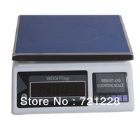 Free Shipping  2014 Fashional NEW hot sale High quality electronic balance 30kg/5g, 15kg/2g