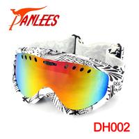 Panlees Anti-fog Skiing Snowboard Ski Snow Goggles for Winter Sport Eyewear Glasses (double lens)