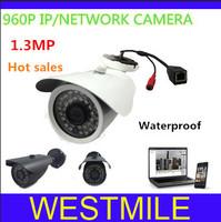 1.3 Megapixel onvif   960P 3.6MM lens 36pcs IR led  IP Camera network camera with bracket,Free shipping
