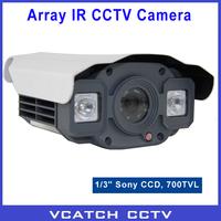 "CCTV 1/3"" Sony CCD 700TVL WDR 2 Array LEDs Waterproof IR Day/Night 50m Indoor/Outdoor Surveillance CCTV Camera + Free Shipping"