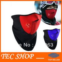 3pcs/lot New Cheap Neoprene Neck Warm Half Face Mask Winter Veil For Sport Bike Bicycle Motorcycle Ski Snowboard Free Shipping