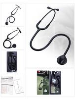 Free shipping 3M Littmann Master Classic II Stethoscope professional,medical stethoscope, Black tube, 27 inch, 2141