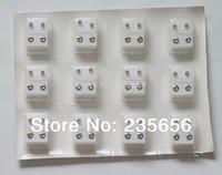 Piercing tool kit Stainless steel anti-allergic rhinestone stud earring ear gun ear piercing needle tools free shipping 24/pcs