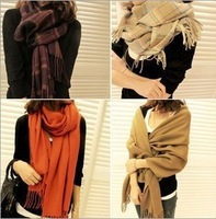2013 Korean the new autumn and winter imitation Cashmere Ladies women wool scarf shawl dual Long Scarf  Free Shipping WJ3004