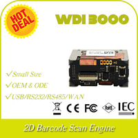 wholesale and retail WDI3000-SR 2D image CMOS QR code PDF417 DM barcode scan module engine