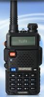 BAOFENG UV-5R E UHF 400-520MHz VHF 136-174MHz Dual Band Watch Two-Way Radio Free shipping