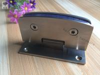 Camber 90 degree double side glass hinge,Frameless glass shower door hinge