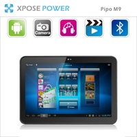 DHL/EMS/KLEX Freeshipping in stock Pipo M9 / M9 Pro 3G Quad Core 10.1inch GPS Tablet PC 2G RAM 16GB  Dual Camera Bluetooth