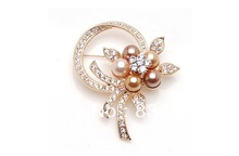 new 2013 OL pearl brooches broach of corsage brooch pins Woman Jewelry
