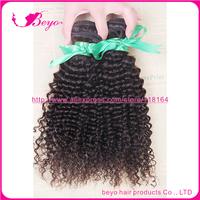 kinky curly virgin hair 6a unprocessed virgin hair malaysian curly hair human hair weave 3pcs free shipping hot selling