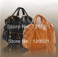 2013 autumn hot selling bag women's leather handbag  brand designer shoulder bag high quality tote big size bags
