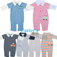 Free Shipping MOQ 1PCS 2014 New Original Carter's Animal Romper, Kamacar Baby Long Sleeve Jumpsuit, Infant and Toddlers Overalls