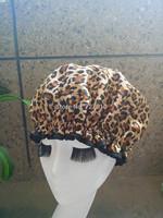 new 2014 Wholesale Satin waterproof shower cap homewale shower parts barber salon supplies colorfull EVA hat hair satin bonnets