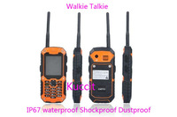 original Quad Band ip67 rugged Waterproof Dustproof shockproof phone DT99 intercom Walkie Talkie Runbo x1 no smartphone Russian