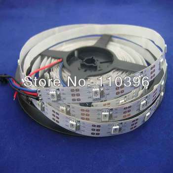 Free Shipping Ws2811 Ws2812b Programmable 5050 SMD Rgb Digital strip lights,DC 5v Addressable 30pcs ws2811 IC built-in 5050 Led