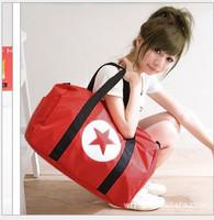 2014 Hot Fashion Casual Large Capacity Sports Travel Gym Bags Gym Totes Nylon 4 Color Shoulder Bag Messenger Bag