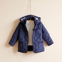 Retail+New 2014 Free shipping children boys winter cotton padded clothes,spring baby outerwear,fashion clothing for boys,W0008R