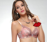 Tibetan style underwear adjustment gather bra Free shipping W5038