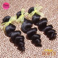 Queen Malaysian Loose Wave Virgin Hair 3pcs/lot 100g/pcs Grade 6A 1B Natural Color 100% Human Hair Weaving
