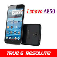 New Arrival Original Lenovo A850 Phone MT6582 Quad Core 5.5 inch Android 4.2 GPS WCDMA 3G SmartPhone Support Multi-Language