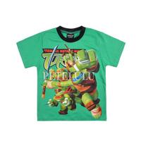 2014 New Children turtles T-shirt boys tees baby boy Short Sleeve T shirts 100% Cotton Kids Summer Wear Brand free shipping