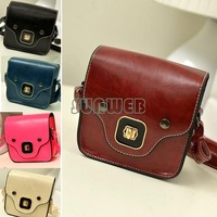 New Vintage Cute Small Women's Synthetic Leather Handbag Shoulder Bag Dinner Party Drop shipping B2 15634