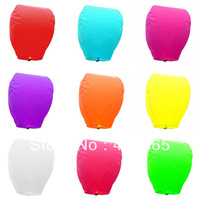 Hot selling 100pcs SKY Balloon Kongming wishing Lanterns,Flying Light Halloween Lights,Chinese sky Lantern