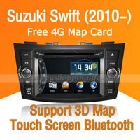 Car DVD Player GPS Navigation for Suzuki Swift 2010 2011 2012 2013 2014 - TV RDS Bluetooth-2 din In Dash car gps dvd multimedia
