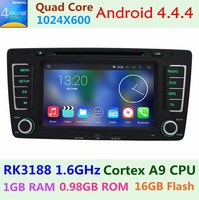 Car DVD Player for Skoda Octavia 2013 a5 Touch Screen with TVCANBUS 3G WiFi BT Radio USB GPS Navigation Android 4.0 for choose