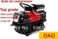 Potable Car Auto 12V Electric Pump Air Compressor Tire Inflator(Cigarette lighter power) Free Shipping (Min order $10)