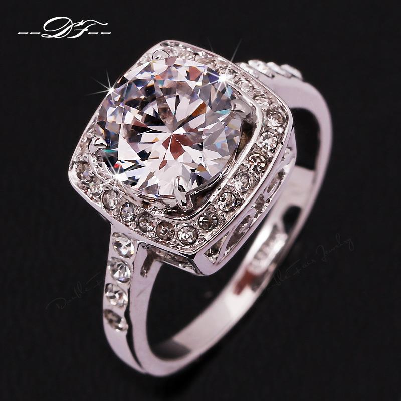 nouveau big 2014 exagérée diamant cz bague de mariage vente en gros ...