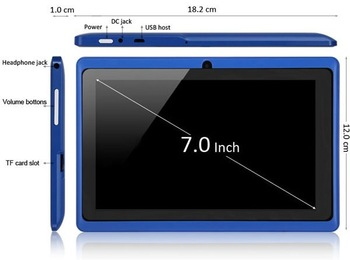 Cheapest Q88 Free shipping, android mini pc Allwinner A13 tablet pc Q88 7 inch 4GB memory fashion design