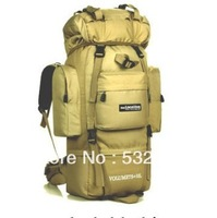 85 liters extra large waterproof Nylon Hiking bags Hot sale and free shipping mountaineering backpack camouflage