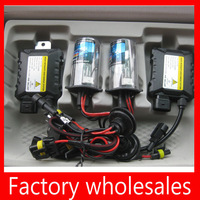 High quality factory hid kit 12v 35w DC hid xenon kit H1/H3/H4/H7/H11/880/9006/9005/D2R/D2S/HB3/HB4 free shipping