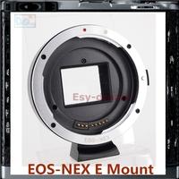 AF Auto Focus Lens Mount Ring Adapter EFs-NEX EF-NEX For EOS-NEX EF EF-s Lens And NEX5T NEX5N NEX7 A6000 NEXF3 A5000 NEX6 PRR15