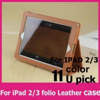 1pcs Free Shipping  for ipad 2 3 4 cover Magnetic Smart Cover Case for i pad 2 3 4 case