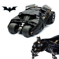 "Free Shipping Batman Vehicle The Dark Knight Toy Black Car Toys Batman Tumbler with 3.75"" Batman figure X5809"