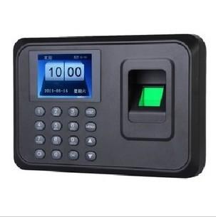 """2.4"""" couleur tft biométrique d'empreintes digitales temps de présence de communication usb empreintes digitales fréquentation à temps les employés de bureau horloge de la machine"""