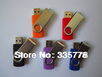 1GB  32GB 64GB Gifts Pen Drive Spin High Speed Plastic USB Flash 2.0 Memory Drive Sticks  Free Shipping