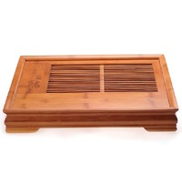 bamboo tea tray kung fu tea sets teaberries tea board xiangfu holder water drawer  tea tray set.