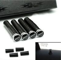 Car Styling Modified Metal Carbon Fiber Car Door Lock Pin Fits for Mercedes Benz AMG