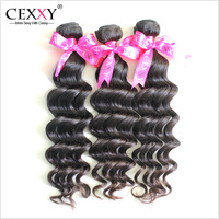 Cexxy Queen Hair Products Virgin Peruvian Hair Weaves Natural Wave 3PCS/LOT 6A Unprocessed Ms Lula Hair Free Shipping DHL
