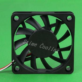 10pcs/set DC 12V 3pin 6010 60x60x10 60mm Mini Motor Radiator Cooling Cooler Fan