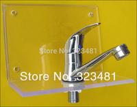 torneira para banheiro Cheap Small South American Single Cold Water tap for Basin Zinc bathroom faucet free shipping