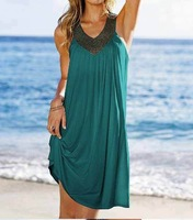 Women's Bikini V&S Dress Beachwear Cover Up Dress Free Shipping Swimwear Tankini Clothes Sexy Diamond Style Super 2013 new !!