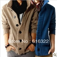 2013 Han edition fashion leisure men's new knit sweater